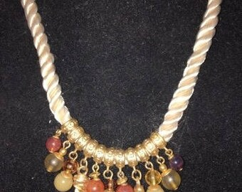 Vintage Dangle Necklace with a Twist of Today!