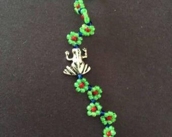 Tree Frog Bracelet