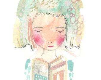 Book art, I love books, reading, love reading, print