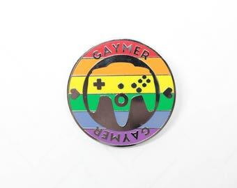Gaymer Enamel Pin - Original