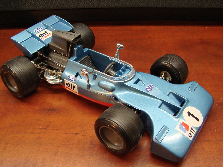 Vintage Schuco Tyrrell Ford Formula 1 Key Wind 1/16th Scale