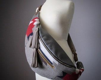 Women Grainy Leather Backpack Purse Handbag Crossbody Shoulder Messenger Bag Wide leather cross body strap by VitalTemptation