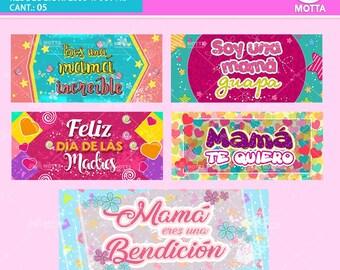 Plantillas Sublimacion Tazas DIA de LA MADRE - Para Mamá - Diseños Tazas Madre - Dia de la Madre - Regalos Madre - The Mothers Day-#1X5Motta
