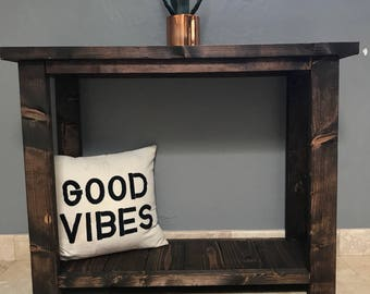 Entryway table|Small console