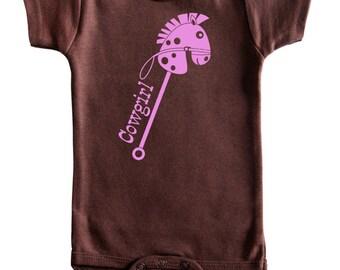 Ride 'Em Cowgirl Baby Bodysuit