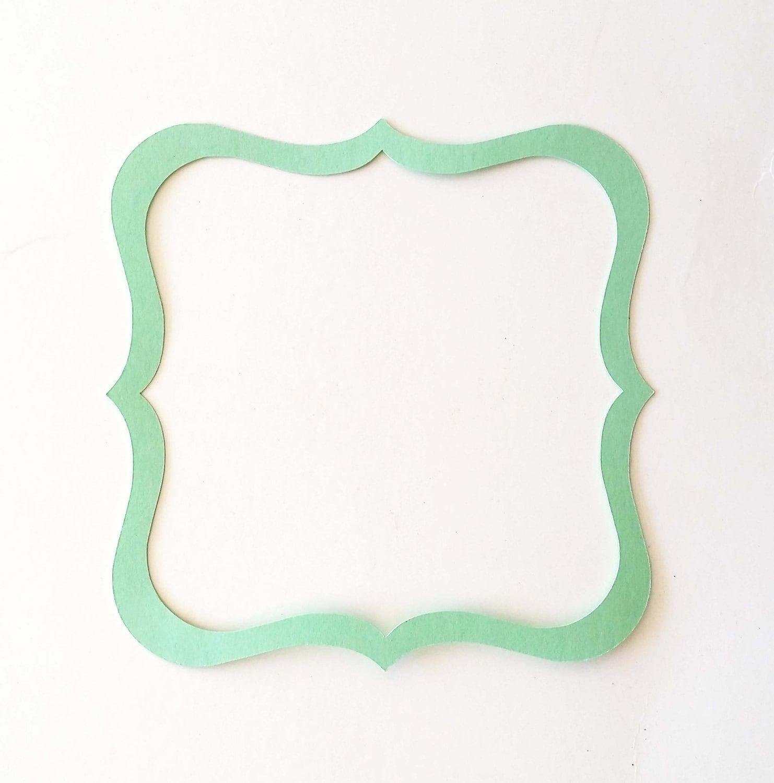 Exelent Picture Frame Cut Out Model - Ideas de Marcos - lamegapromo.info