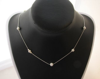 Sterling 925 Silver Stardust Necklace