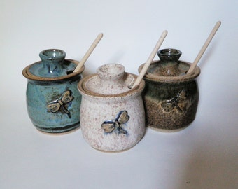 Dragonfly Honey Pots
