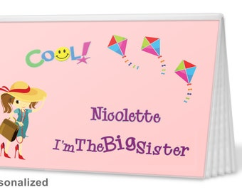 Brag Book - I'm The Sister Brag Book  in PINK - Photo Album -  Big Sister Gift