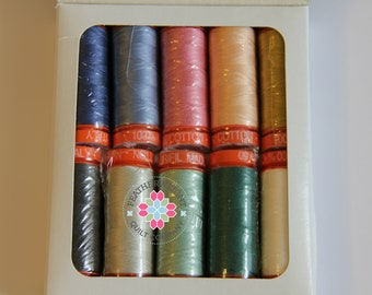 Sketchbook by Sharon Holland Aurifil 50 wt thread collection - SALE PRICE