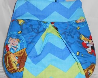 Small Jake and the Netherland Pirates Ladybug Backpack