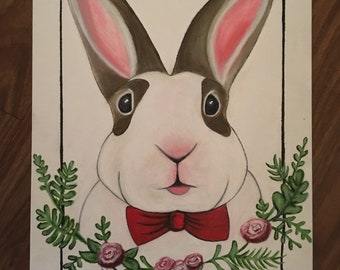 Original Bunny Painting