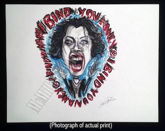 "Nancy Downs ""The Craft"" Movie Art print"
