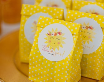 Printable Favor Tag - You Are My Sunshine