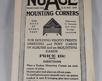 NuAce Mounting Corners in White