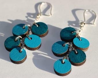 Herukka-earrings (turquoise)