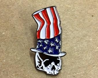 Vote Death! Enamel Pin by Print Mafia®