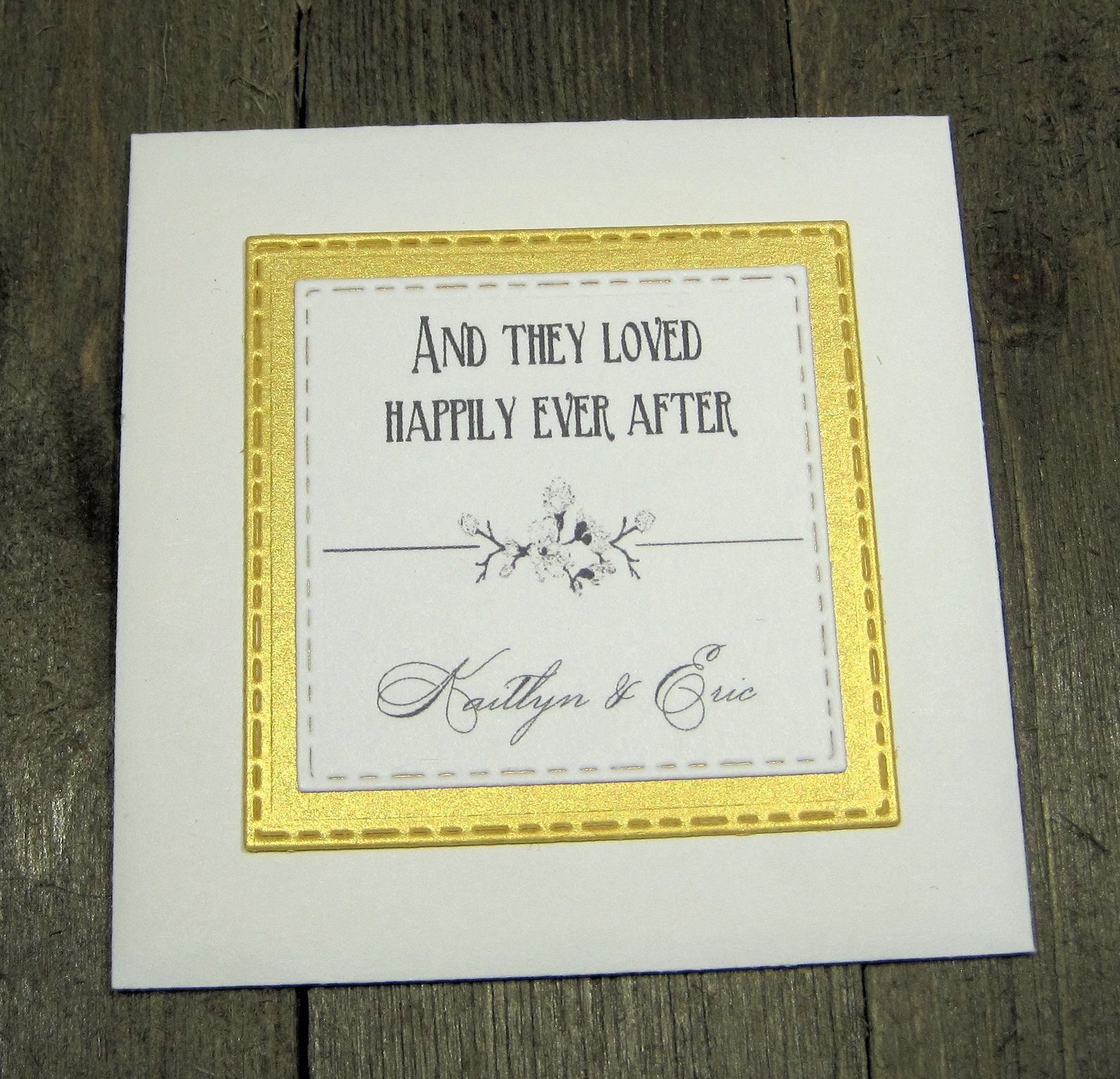 Elegant Wedding Favors Wildflower Seeds Personalized And