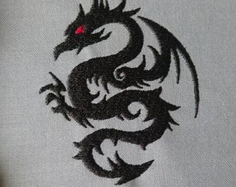 """Embroidery File """"Dragon"""" (Hoop 4"""" x 4"""")"""