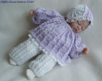 """Doll Crochet Pattern Top, Hat, Pants Crochet Pattern for 10-16"""" doll DIGITAL DOWNLOAD 76"""