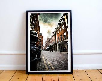 London - Kensington Court on Kensington High Street | London Photography | United Kingdom | Photographic Print