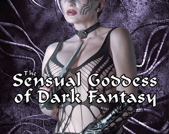 The Sensual Goddess of Dark Fantasy - Poker Sized Playing Cards