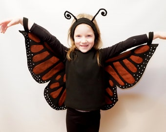 Butterfly costume / Kids Costume/ Girl butterfly costume/ Boy butterfly costume/ Butterfly dress up/ handmade costume/ Halloween costume