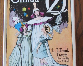 Glinda Of Oz Vintage c.1920 By L.Frank Baum Illustrated by Jno R Neill  Free Shipping