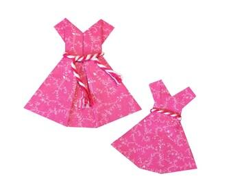 Various Colours | Miniature Paper Dresses | Fairy Garden | Dolls house | Card Making | Scrap Booking | Embellishment