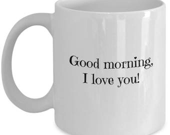 I love you Coffee Mug | Husband Wife Gift | Gift for Husband or Wife