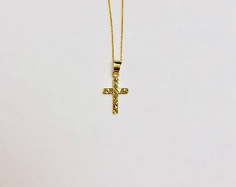 Tiny Gold Necklace