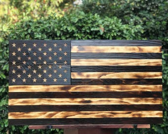 Charred Original American Flag