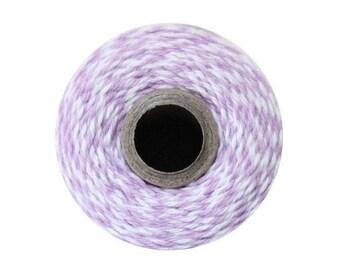 Light Purple Bakers Twine - Orchid Twist - 240 Yard Spool