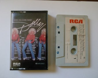 DOLLY PARTON - Here You Come Again - Cassette Tape RCA 1977 - Rare