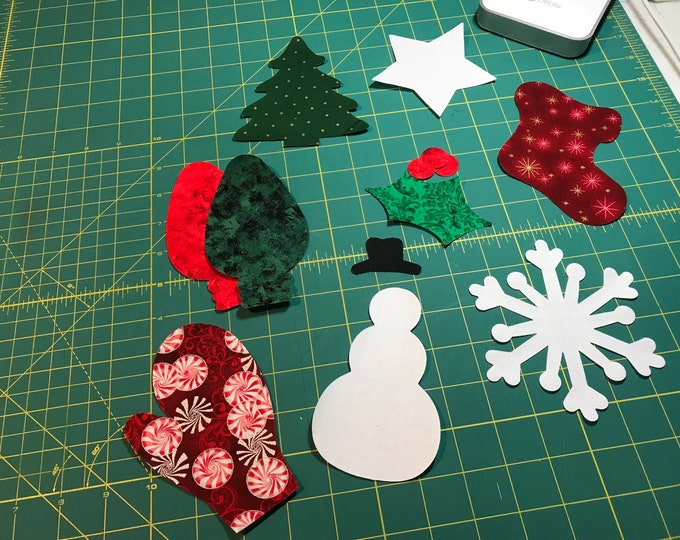 Fusible Christmas Applique - 1