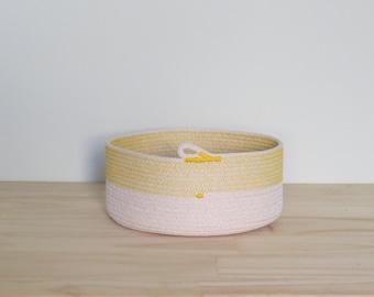 Extra Large Rope Bowl - housewarming / wedding gift - choice of colour
