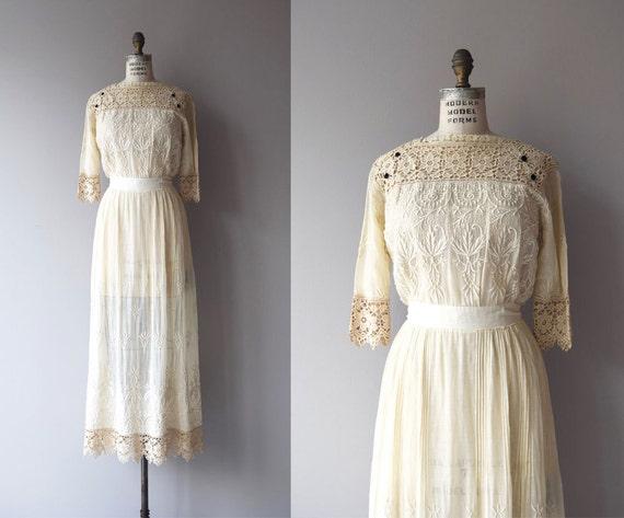 Tullannah Brautkleid Antike 1910er Jahre Kleid Spitze