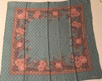 Souleiado vintage Souleiado silk scarf vintage silk scarf