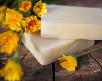 Calendula Baby Soap - natural soap made with honey and beeswax