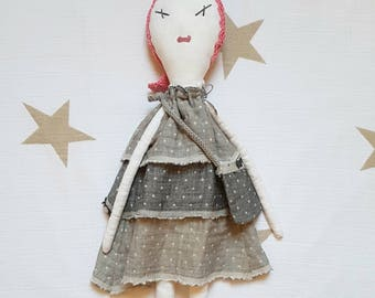 "Ginette Kiruna. ""Les Ginettes"" rag doll. A Rag Dolls Collection"