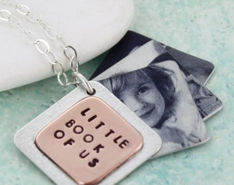 Gift for Grandma - Photograph Locket - Silver Locket - Mothers Day Gift -  Personalised Locket - memory locket - Photo Locket