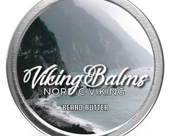 Viking Balms - Nordic Viking - All Natural Beard Butter - 2oz