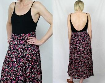 Vintage 90's Ditsy Floral Skirt