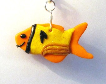 Star Trek Tribute Fish Collar Charm