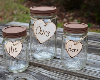 Sand Ceremony Mason Jars