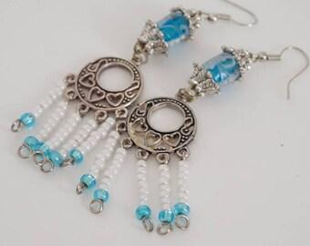 Sea Gypsy Medallion Earrings