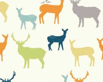 KNIT Birch Organic Elk Grove Elk Family Multi Knit (Half metre)