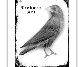 Erehwon Art Logo Card