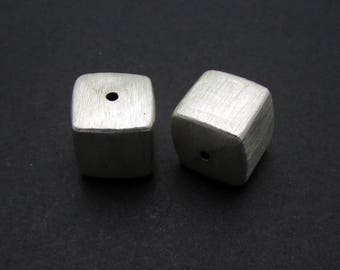 1 Pc, 8mm, Sterling Silver Bead