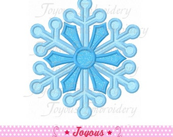 Instant Download Snowflake Embroidery Applique Design NO:1640